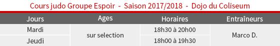 Judo-GroupeEspoir-Coliseum-2017-2018