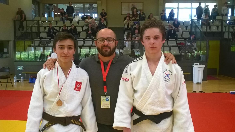 Amiens somme club judo enzo anthony et jason qualifi s pour la coupe de france cadets - Coupe de france 2014 2015 ...